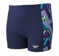 Speedo Electro Camo Aquashort boys' swimwear