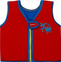 Speedo Sea Squad Swim Vest Red