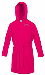 Speedo Bathrobe Microfiber Junior Pink