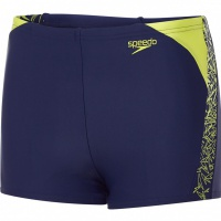 Speedo Boom Splice Aquashort Junior Navy/Lime