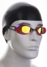 Swimming goggles Mad Wave Racing Automatic Liquid Mirror
