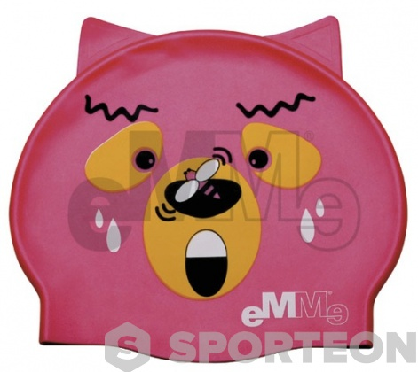 Children's swimming cap Emme bear with wasp
