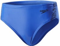Speedo Boom Splice 6.5cm Brief Boy Amparo Blue/Black