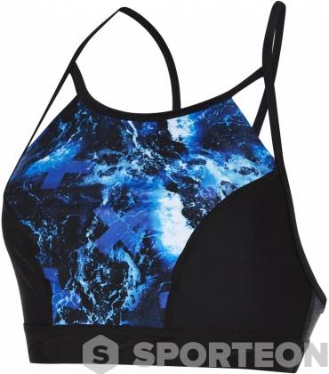 Speedo Stormza Crop Top Black/Ultramarine/Stellar