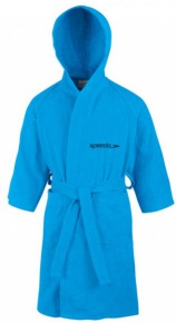 Speedo Bathrobe Microterry Junior Japan Blue