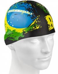 Mad Wave Brazil Swim Cap