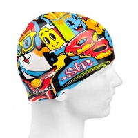 Mad Wave Ice Cream Swim Cap