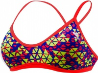 Tyr Modena Trinity Top Red/Yellow