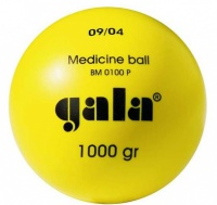 Plastic medicine ball 1 kg