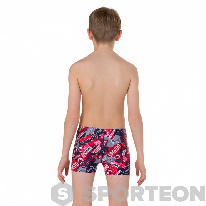 Speedo Boys age 10 11// 12 Swimming trunks  Swim Aquashort  Short Boxer Navy