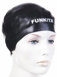 Funkita Still Black Swimming Cap
