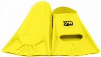 BornToSwim Junior Short Fins Yellow