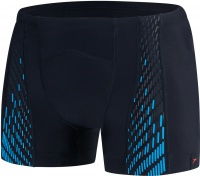 Speedo Fit PowerMesh Pro Aquashort Black/Windsor Blue