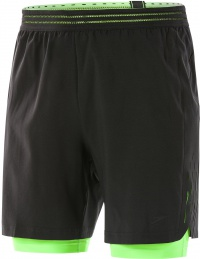 Speedo ReflectWave Flex 2-in-1 Watershort Black/Bright Zest
