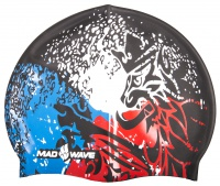Swimming cap Mad Wave Silicone Czech