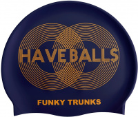 Funky Trunks Golden Balls Swimming Cap