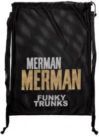 Funky Trunks Golden Merman Mesh Gear Bag