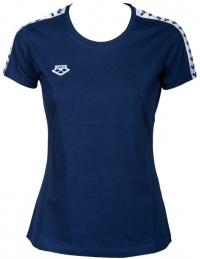 Arena W T-Shirt Team Navy/White