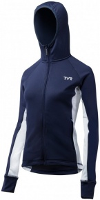 Tyr Female Victory Warm-Up Jacket Navy/White