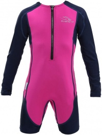 Aqua Sphere Stingray HP Long Sleeve Kids Pink/Navy