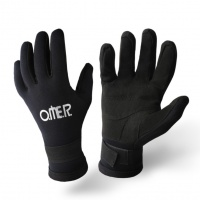 Omer Brazil Alcantra Neoprene Gloves 3mm Black