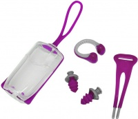 Aqua Sphere Ear Plugs + Nose Clip Combo