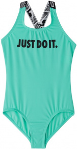 Nike JDI Crossback One Piece Girls Aurora Green