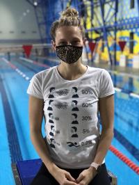 Swimaholic Antivirus T-Shirt Women