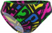 Mad Wave Frisky J3 Antichlor Bottom Black/Multi