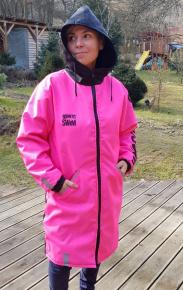 BornToSwim Gen-X Parka Pink/Black